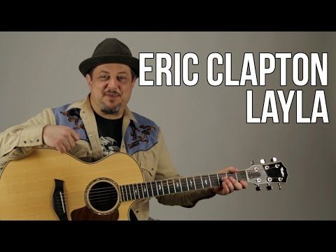 Eric Clapton Unplugged Layla Guitar Lesson Acoustic Blues How