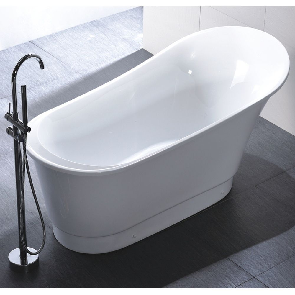 Lovely Youu0027ll Love The Contemporary And Elegant Style Of This Freestanding Bathtub.  Perfect For Nice Design