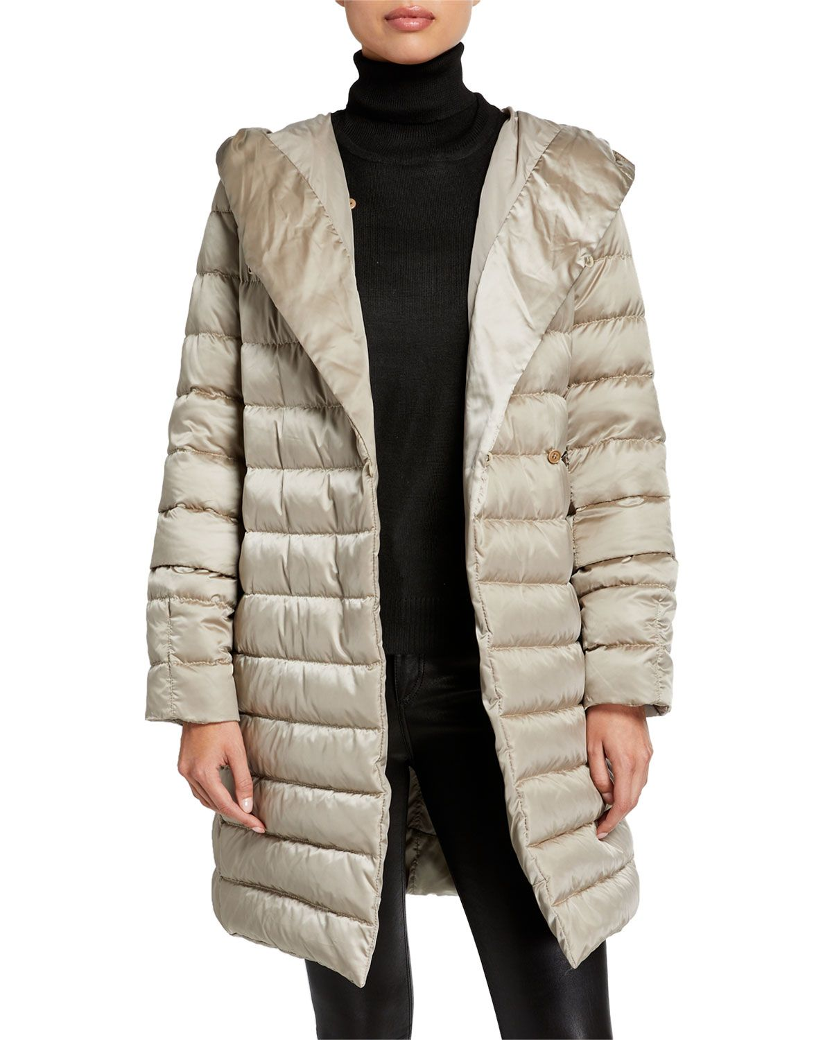 Max Mara The Cube Here Is The Cube Collection Novef Reversible Belted Down Jacket Down Jacket Reversible Belt Max Mara [ 1500 x 1200 Pixel ]