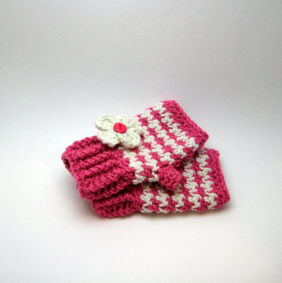 KIDS Crochet Pattern fingerless mitten pattern by HookNYarnCrochet ...