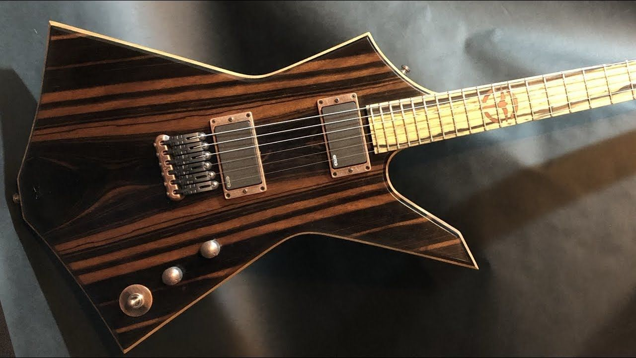 The Minotaur - Custom Ebony Top Guitar Build [Full Build]