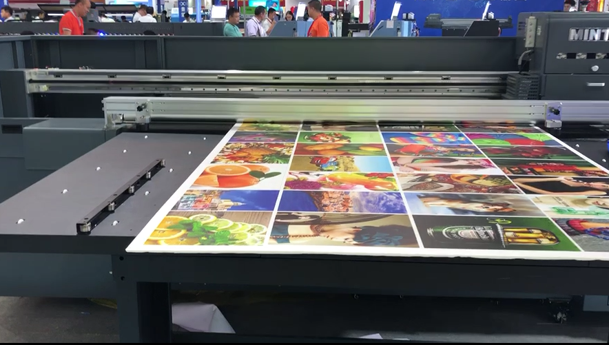 UV flatbed printer KT board printing Widely used in advertising