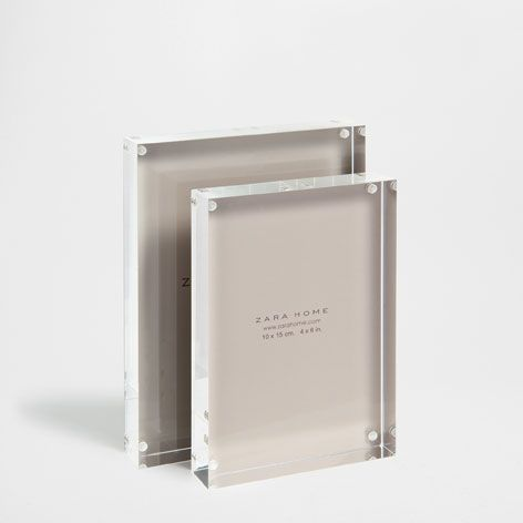 Lijst Plexiglas - Kaders - Decoratie | Zara Home Netherlands