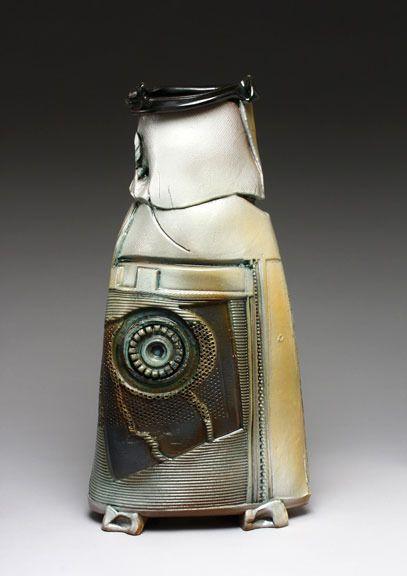 Sandra Blain | 'Hex' Handbuilt, glazed stoneware