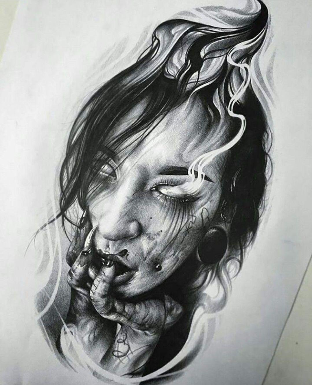 Tattoo Woman Dark: Tattoo Drawings, Tattoo Sketches, Tattoos
