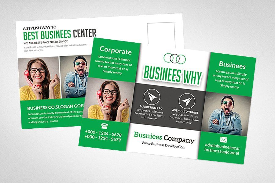 Marketing Postcard Template Postcard Marketing Template Templates