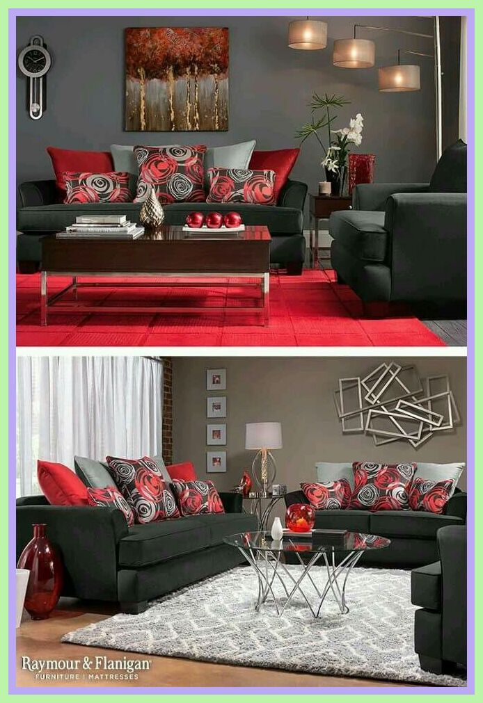 Photo of 117 reference of sofa Red sala pequena