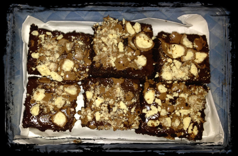 My malteser brownies! =]