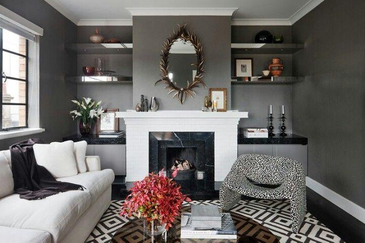 David hicks design pty ltd   Classic living room ...