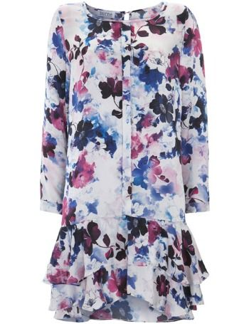 #Maximillan floral print dress from Borne by Elise Berger