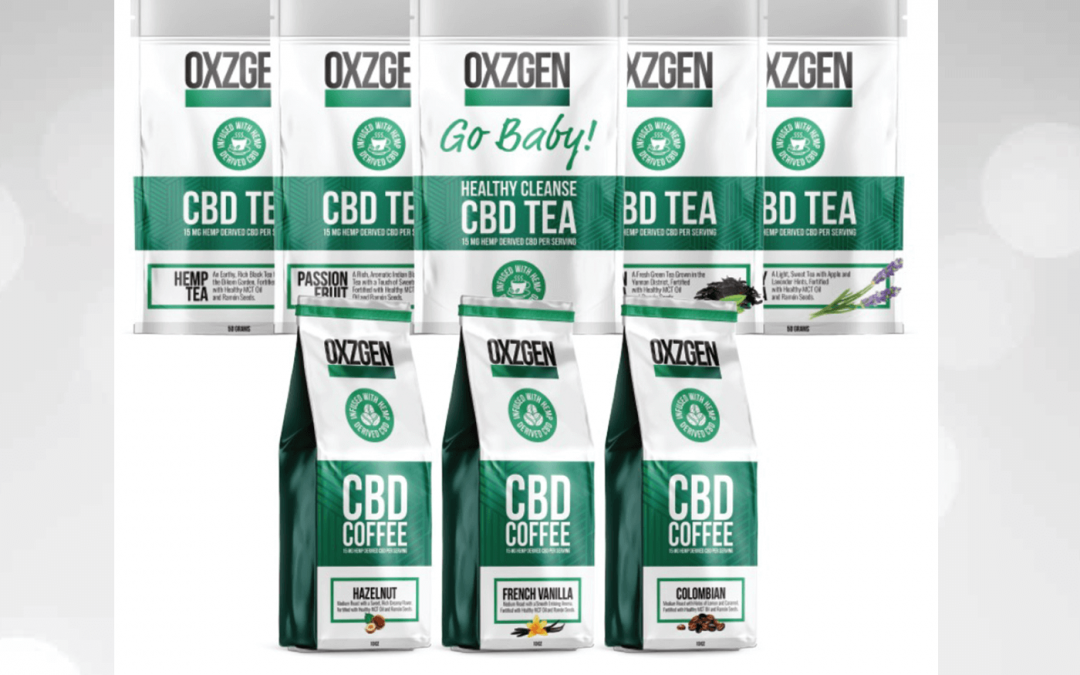 Releases OXZGEN CBD Coffee & CBD Teas   healthy eating from