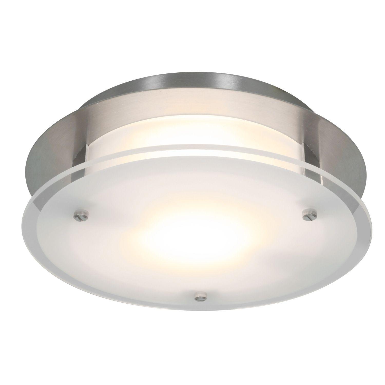 Round Bathroom Fan Light Combination