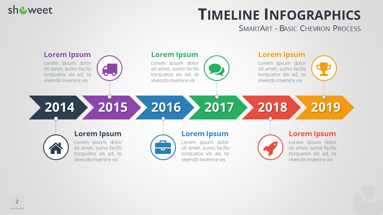 TimelineInfographicsPowerpointSmartartPng