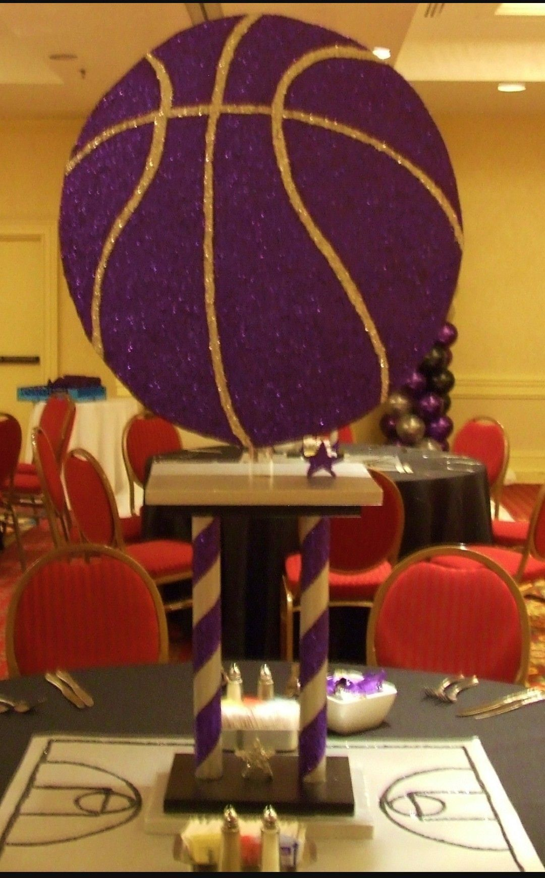 Pin by Steph on Holiday Sports themed party decorations