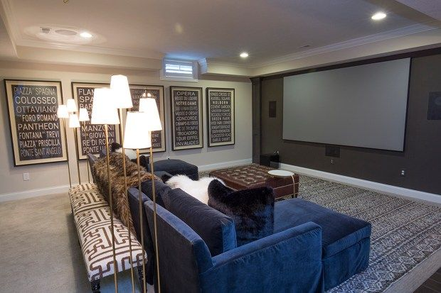 A focus on entertainment in modern rec rooms
