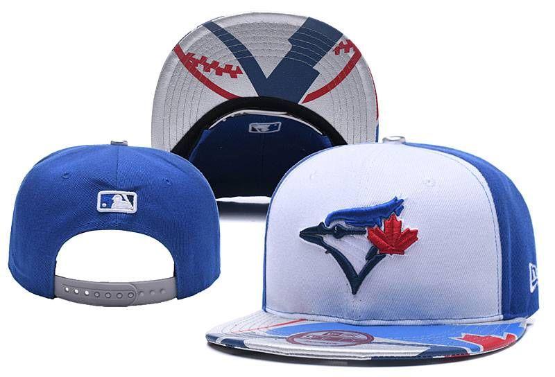 MLB Blue Jays Team Logo Adjustable Hat  cacdc2ad14c5