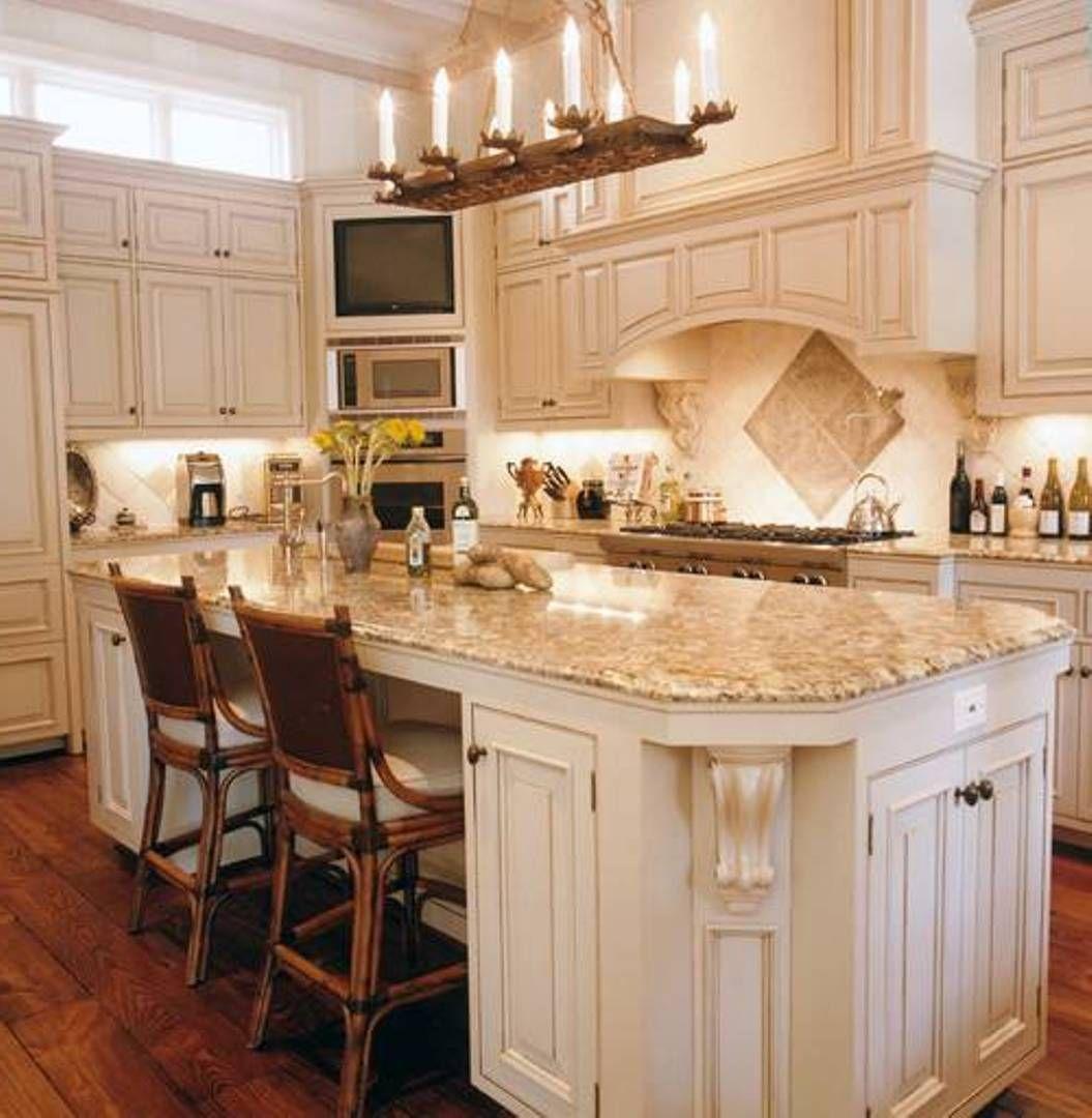 kitchen:modern small kitchen with brown granite countertop