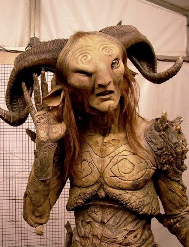 How To Make Incredible Costume From The Faun From Pans ...