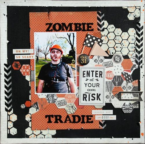 Step by Step with Kylie Cornish Get the SPOOKY new line at allscrapbooksteals.com 30% off!