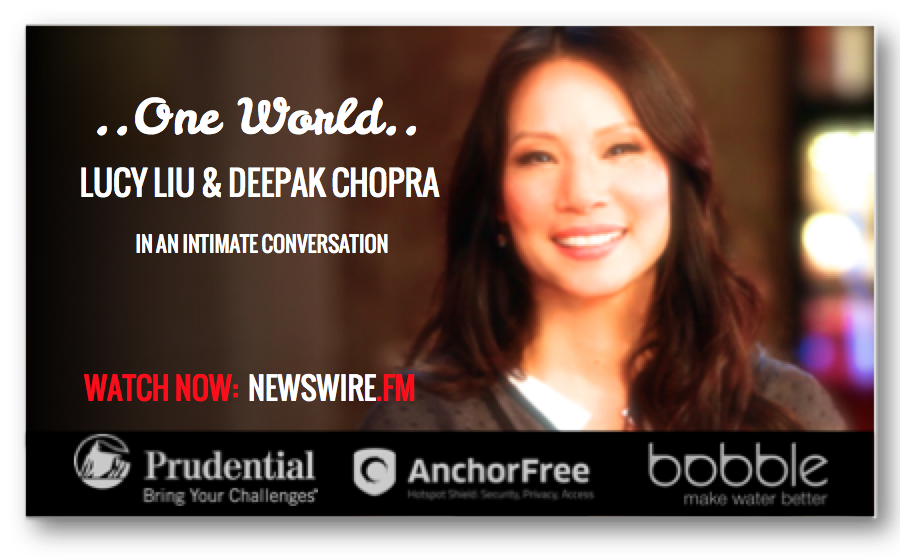 From the #DannyKaye Humanitarian Award, Woman's World Award for Outstanding Humanitarian, #ChampionofPeaceAward to being a longtime #UNICEF ambassador, #LucyLiu 's heart & actions reach far beyond the digital screen. Watch her #ONEWORLD conversation with #DeepakChopra now on #NEWSWIREFM: newswire.fm/one_world/video.php?guest_id=317