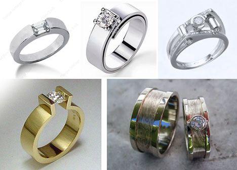 unique modern diamond engagement rings brideca wedding ring 101 modern engagement - Modern Wedding Rings