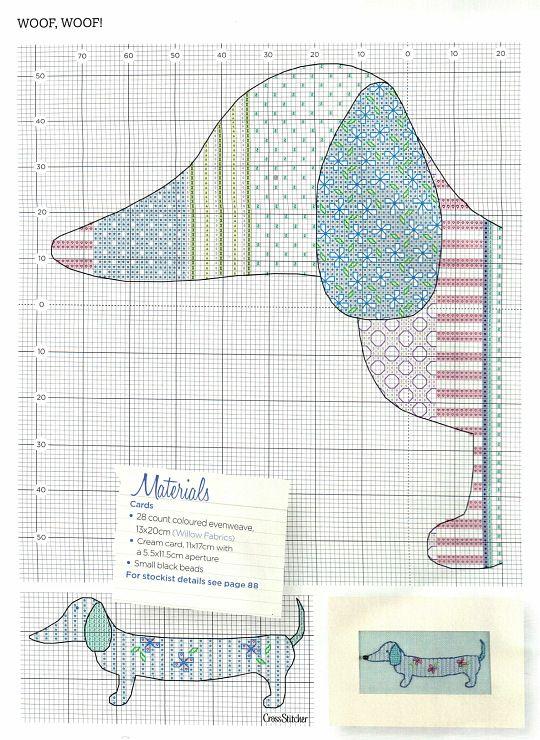 Dachshund pattern. Use Google translate.   Doxie quilt   Pinterest ...