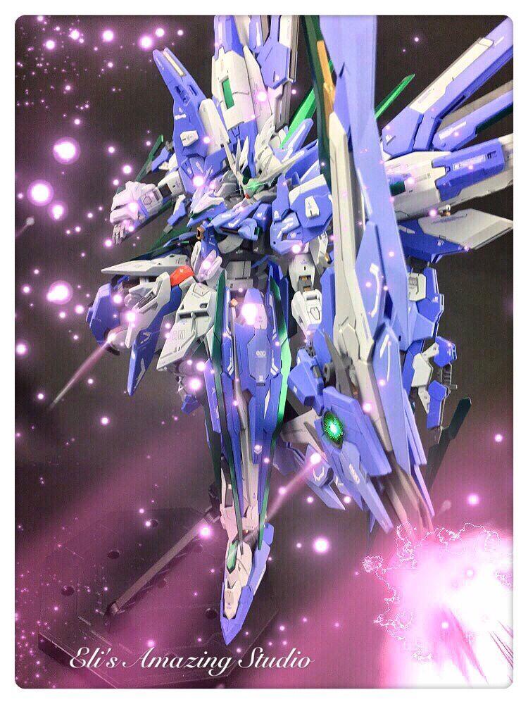 Custom Build MG 1/100 Gundam 00 Amazing QAN [T] [GBWC