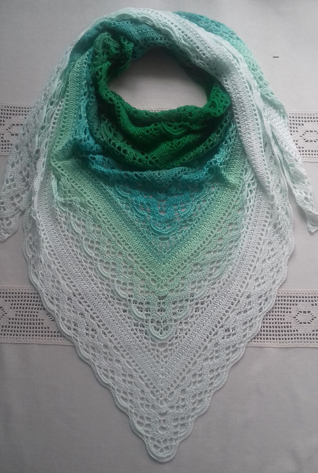Ravelry: Klaziena Shawl pattern by Kirsten Bishop | Bolero, scarf ...