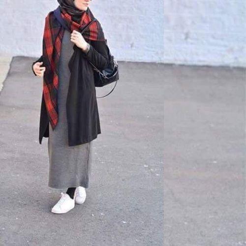 sneakers | Hijab fashion, Hijab style