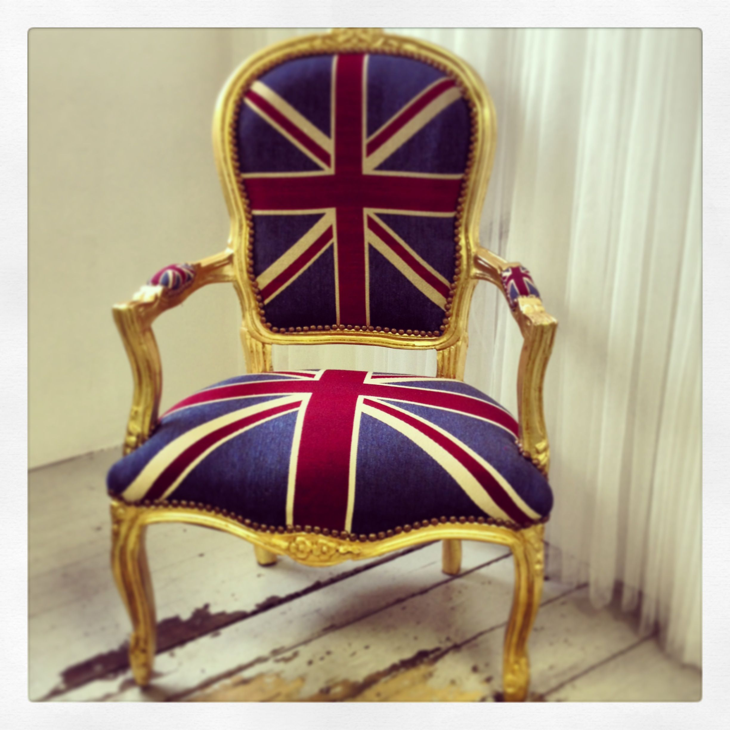 union jack furniture. Vintage Style Union Jack Throne Chair By Made With Love Designs Ltd. Furniture E