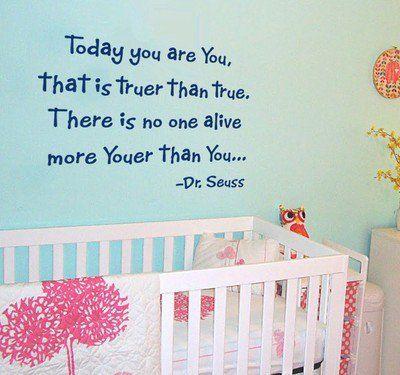 Dr Seuss Nursery Decals  TheNurseries - Dr seuss nursery wall decals