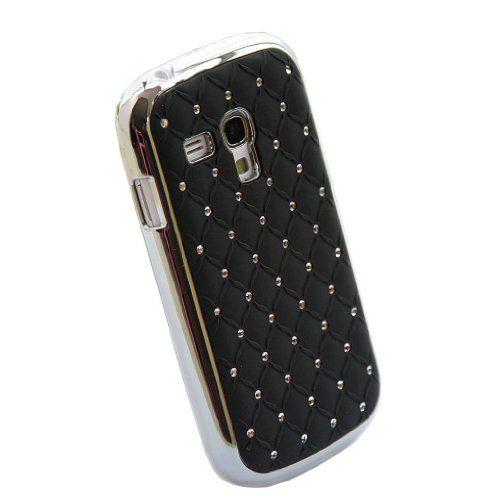 ivencase Rhinestone Bling Chrome Plated Case Cover for Samsung Galaxy S3 III Mini i8190 black + Anti-dust Plug Stopper ivencase,http://www.amazon.com/dp/B00IHX7HIA/ref=cm_sw_r_pi_dp_dltttb15DFK3MHA0