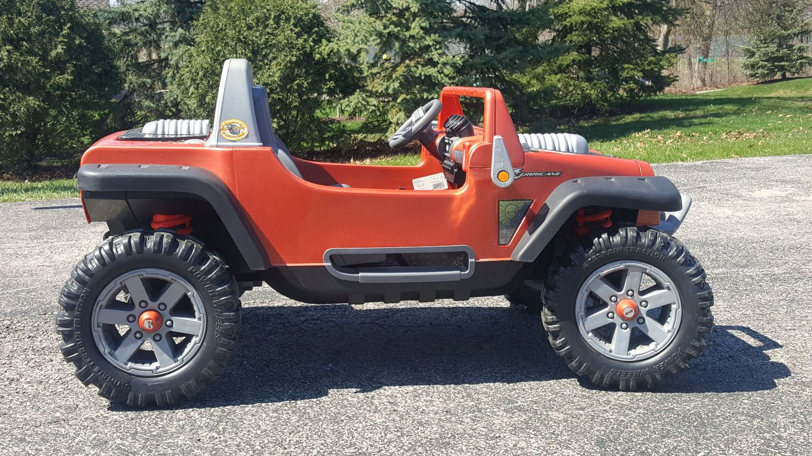 Power Wheels Battery Powered 12v Ride On Jeep Hurricane Power