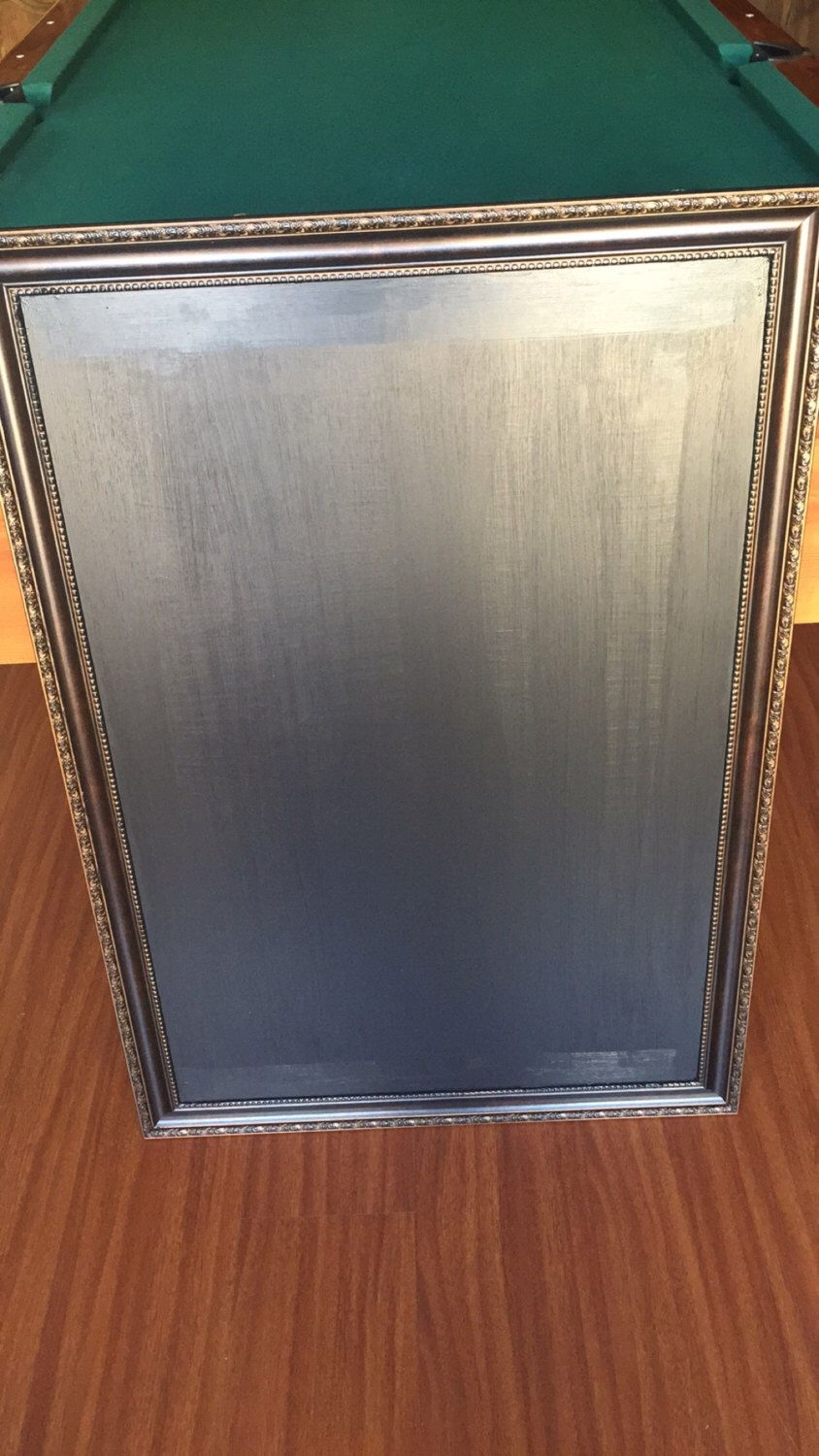 24inx36in x-large chalkboard with rustic frame wedding or household ...
