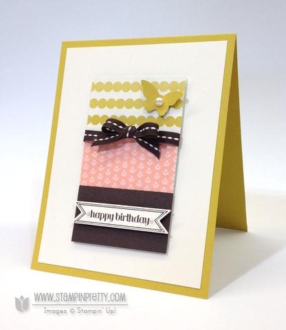 Ppa 178 Birthday Basics Card Cards Card Ideas And Craft