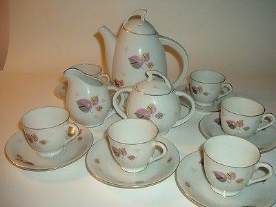 15 Pc Gales Vintage Japón menuda o Demi Juego de té con la tetera Crema azúcar Copas Sau • $ 26.99
