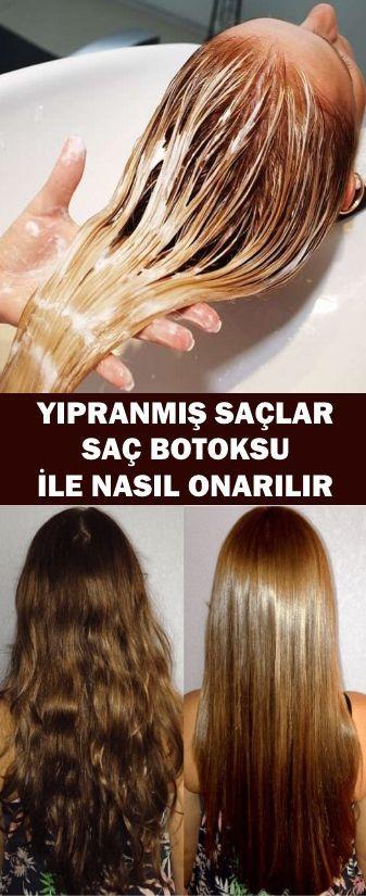 Yipranmis Saclar Sac Botoksu Ile Nasil Onarilir Www Vipbakim