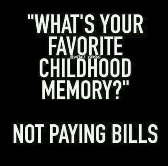 Ahh yes, childhood memories...
