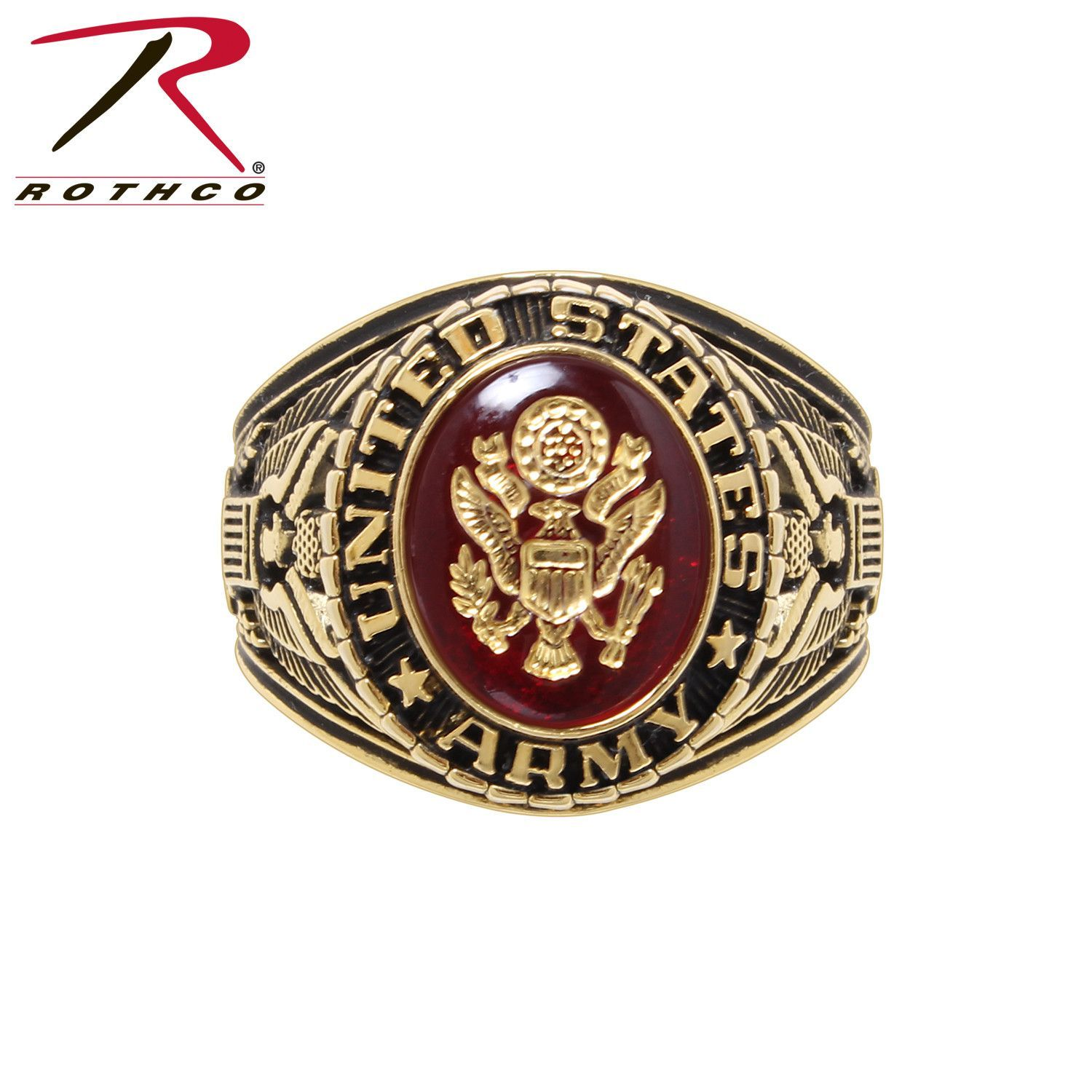 Deluxe Brass Engraved Ring