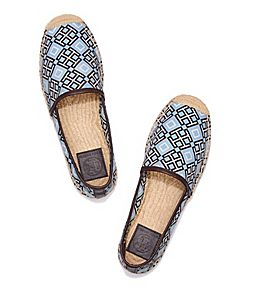 636d83dc37097 Visit Tory Burch to shop for Printed Espadrille and more Womens View All.  Find designer shoes