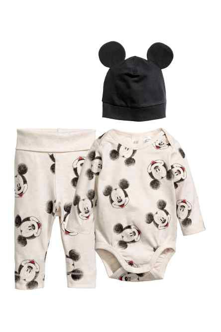 26db3591b18c2 3-piece jersey set Mickey Mouse | Tucker James | Cute baby clothes ...