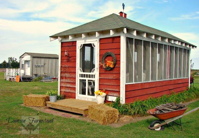 The Corn Crib Gazebo: Before and After | Outdoor buildings ...