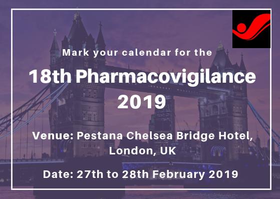 18th Pharmacovigilance 2019 | Medical Events Worldwide