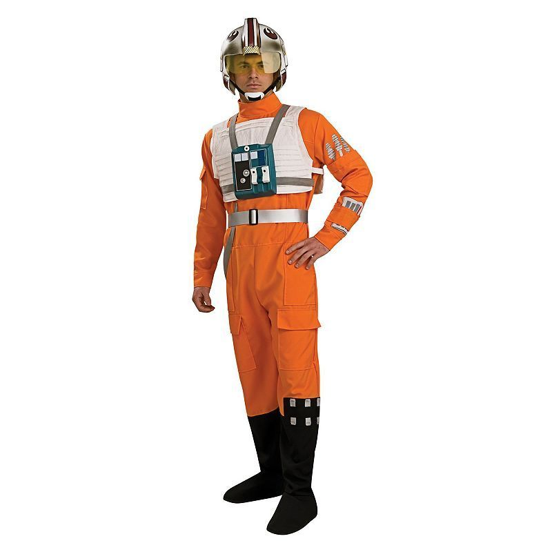 Star Wars X-Wing Fighter Pilot Costume - Adult, Multicolor