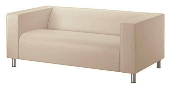 The Beige Klippan Loveseat Cover Replacement Is Custom