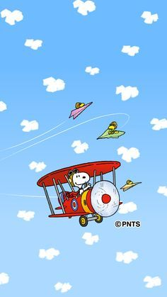 Snoopy Woodstock After The Red Baron Charlie Brown Pinterest