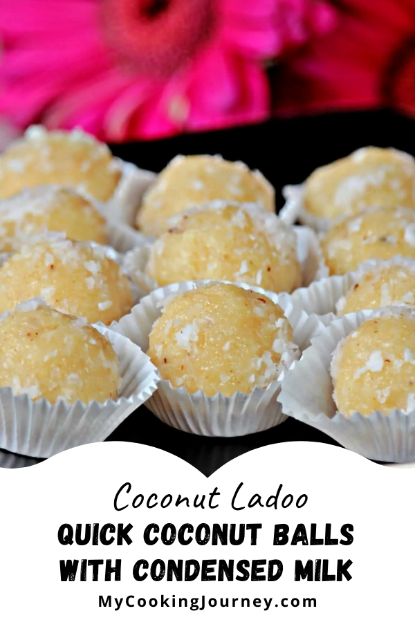 Coconut Ladoo Quick Coconut Balls With Condensed Milk Recipe In 2020 Coconut Recipes Sweet Treats Recipes Yummy Food Dessert