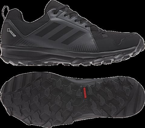 Adidas Terrex Tracerocker Gtx Black Black Carbon Adidas Mens Trail Running Shoes Black Shoes