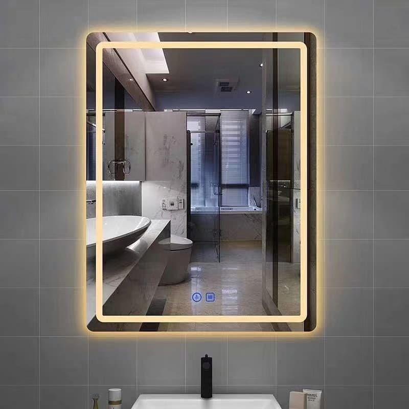 Large Led Bathroom Mirror Ideas In 2020 Bathroom Mirror Design Bathroom Mirror Amazing Bathrooms