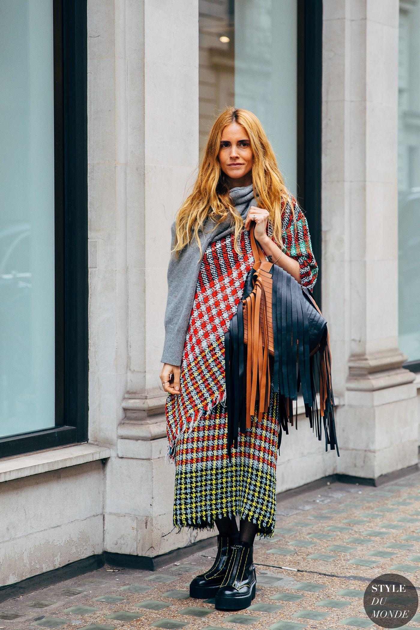 London FW 2019 Street Style: Blanca Miro Scrimieri